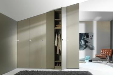 Noteborn Essential kledingkasten op maat, decor stofgrijs