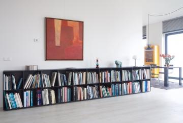ABC-Quadrant-kunstboekenkast-lak-zwart