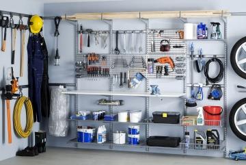 Elfa inrichting voor garage