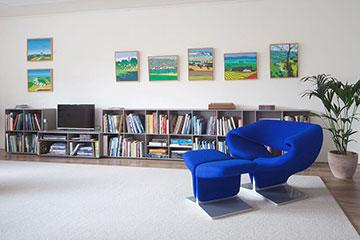 ABC-Quadrant-lage-boekenkast-sideboard-met-tv-plek-met-Artifort-Ribbon-360