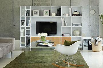 ABC-Quadrant-wandkast-met-tv-ruimte-lak-wit-en-eiken-fineer-360