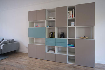 DallAgnese-Speed-multifunctionele-wandkast-met-laden-en-deuren-lak-taupe-en-nordic-blue-360